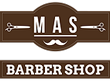 Mas Barber Shop Logo